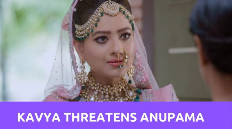 Anupama Upcoming Story: Kavya threatens to fill a complaint against the Shah family