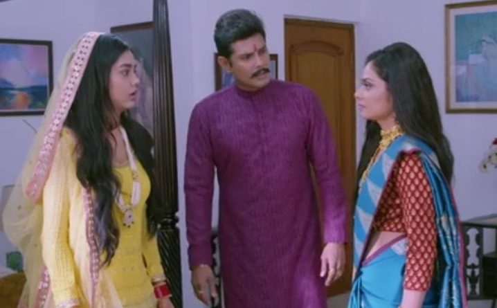 Molkki 17th May 2021 Written Update: Sakshi stops Purvi from leaving